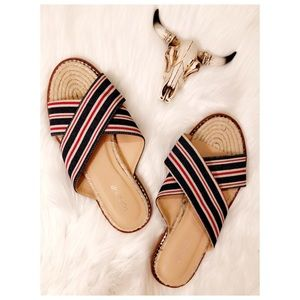 Topshop Espadrilles Sandals, size 8.5